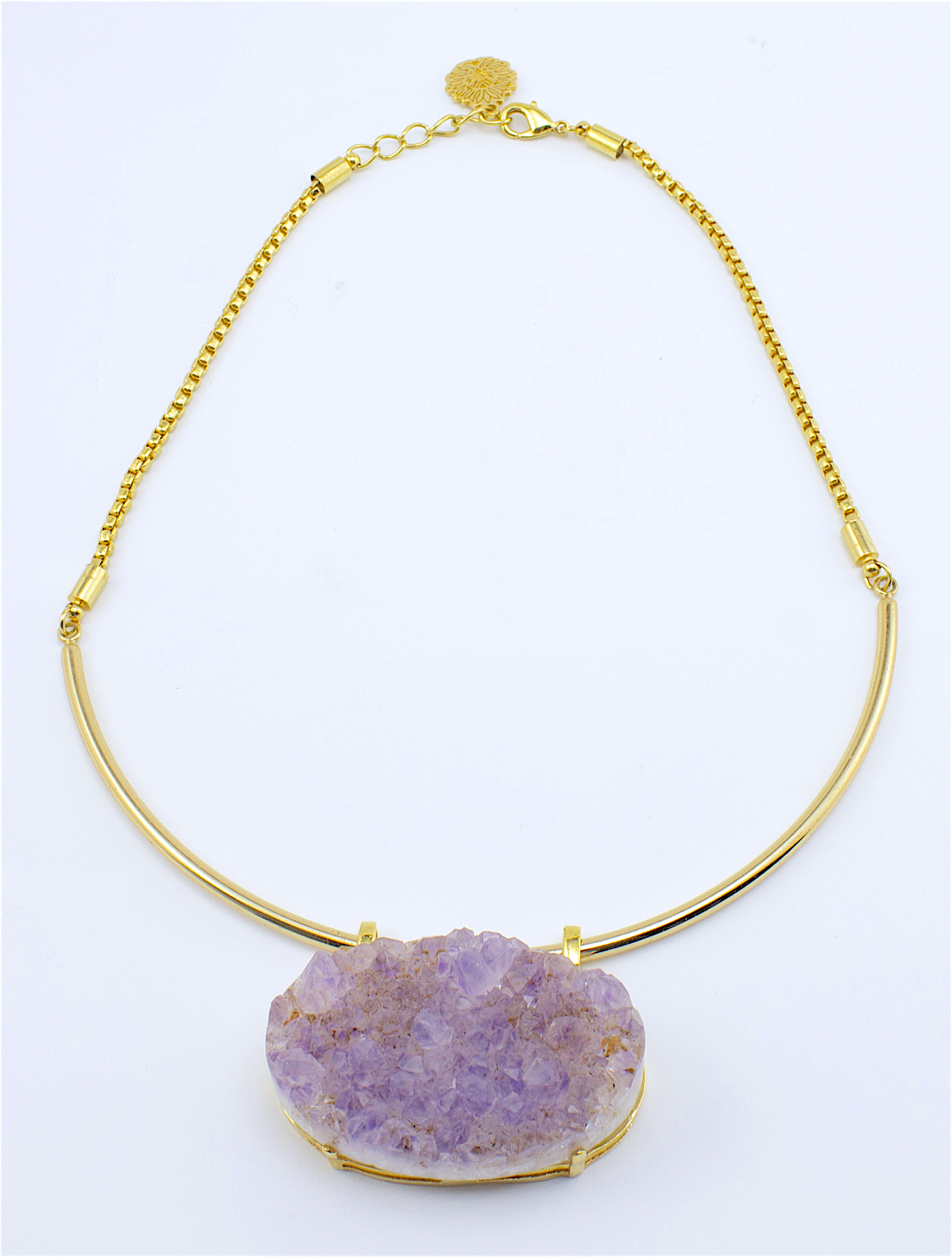 raw pendant product and market shop necklace melrose of triple stone image nordstrom rack